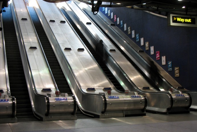 escalators